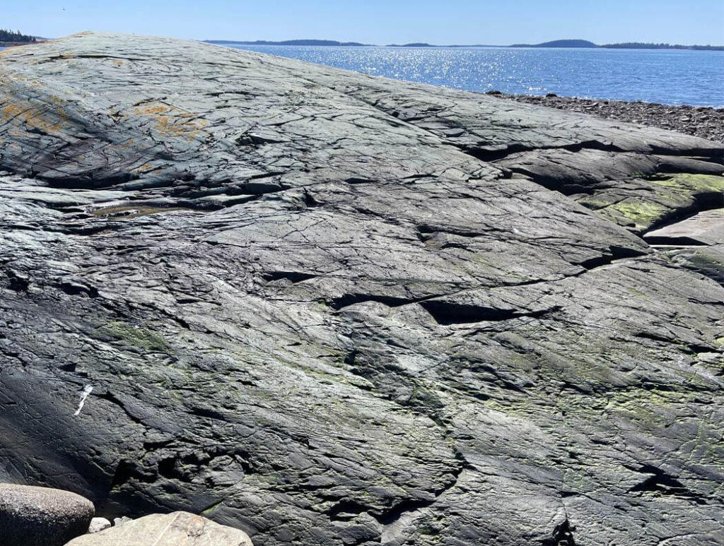 Rocks on Maine's coast