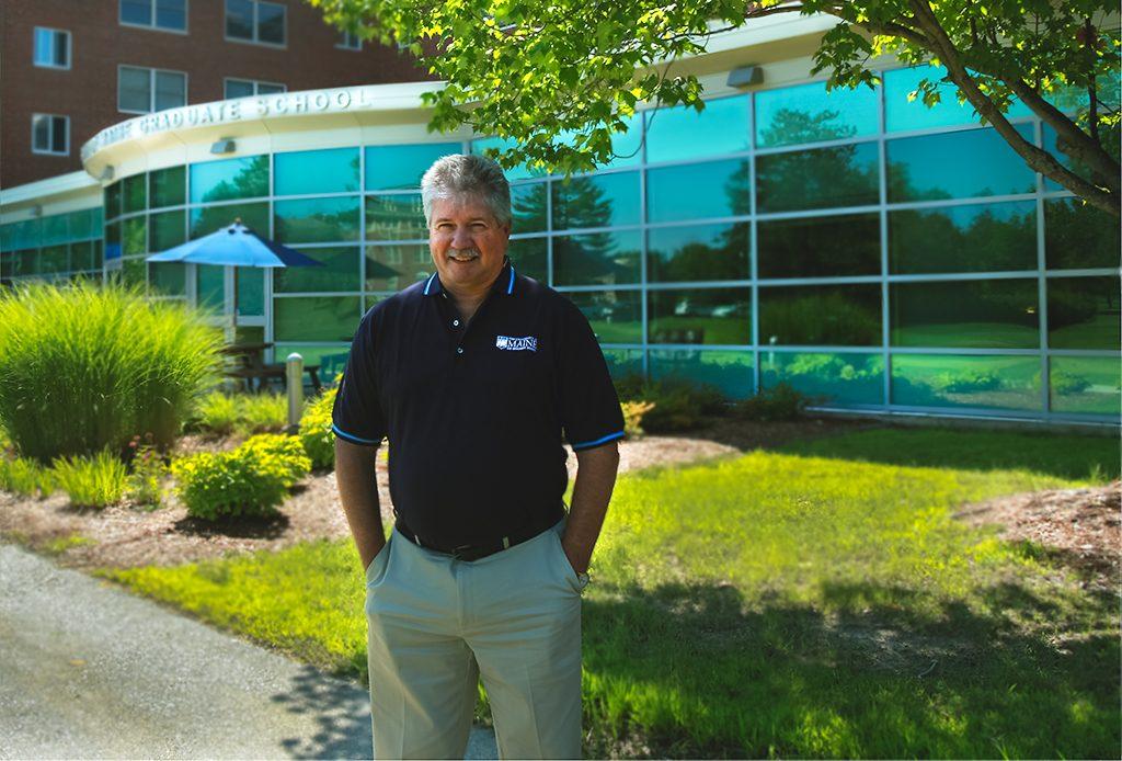 Scott Delcourt at the Graduate School