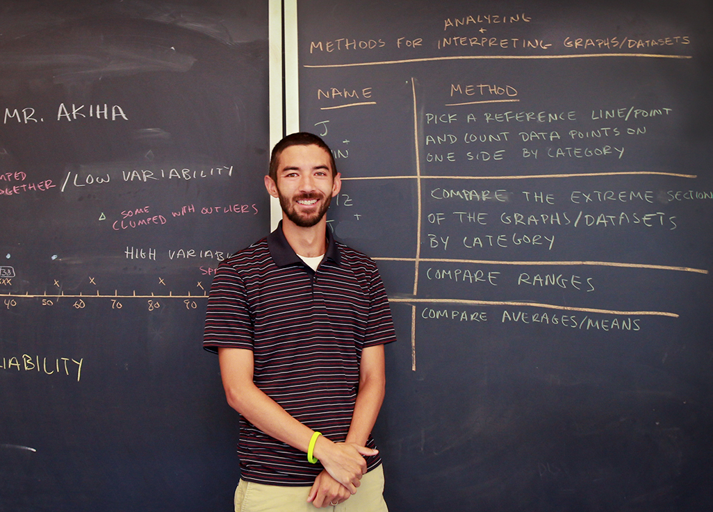featured image for UMaine alum puts his research into practice at Old Town High School