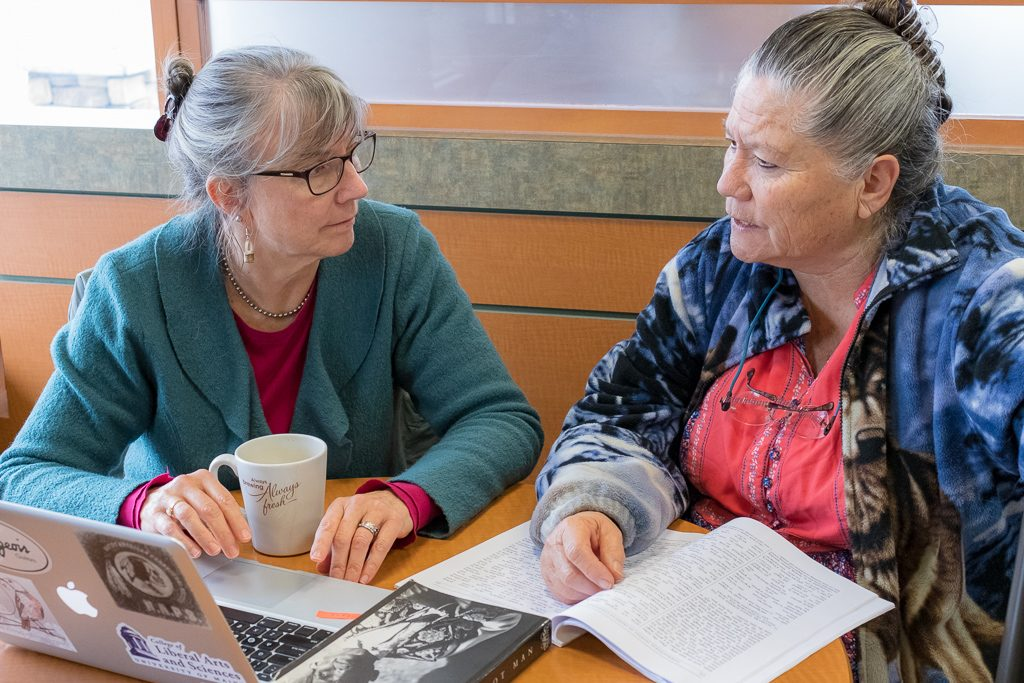 Lukens and Dana collaborate to create a bilingual book of Penobscot tales
