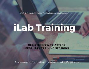 iLab Training register now