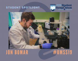 Jon Bomar in his lab