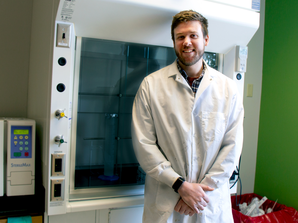 featured image for Graduate Student Spotlight: Jon Bomar puts his heart into cardiac research