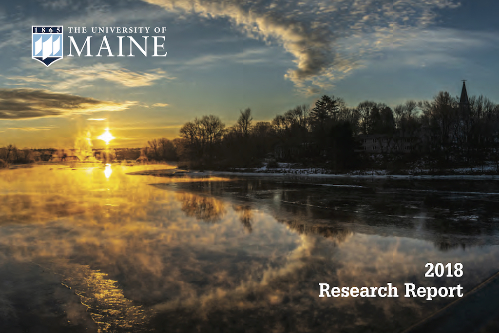 featured image for Annual UMaine Research Report now online
