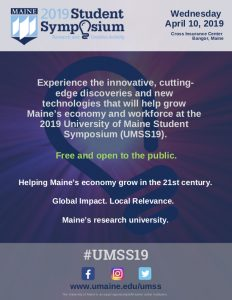 #umss19 Wednesday, April 10, 2019 at Cross Insurance Center, Bangor