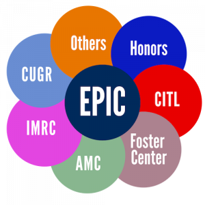 EPIC, Others, Honors, CITL, Foster Center, AMC, IMRC, CUGR