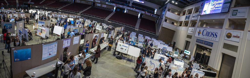 UMaine Student Symposium panorama