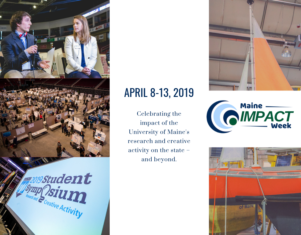 featured image for 2019 Maine Impact Week and UMSS successfully showcased research and creative work