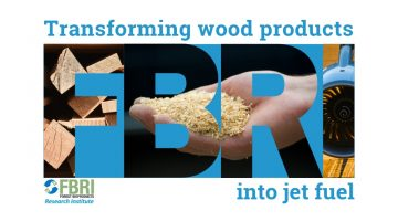 FBRI: Transforming wood products into jet fuel