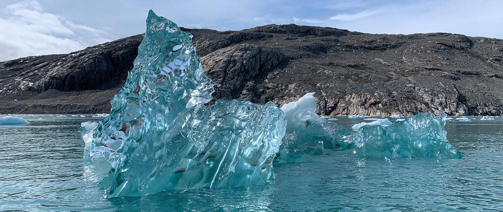 Iceberg at Qalerallit Imaa Fjord