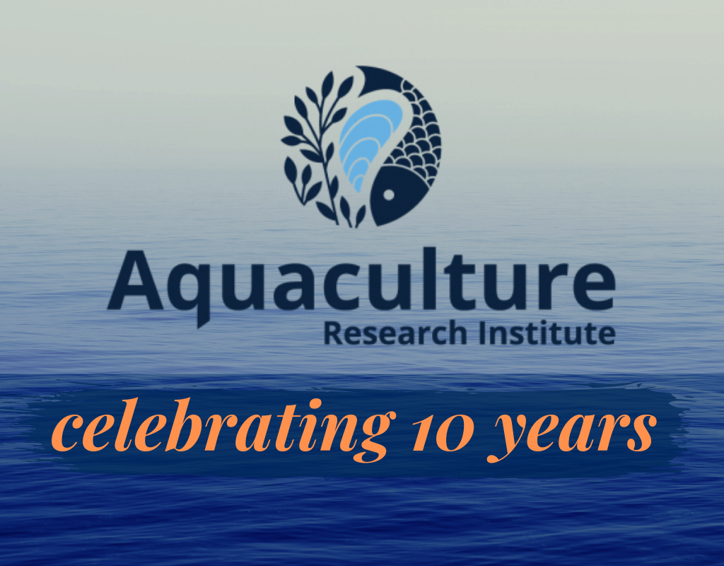 Aquaculture Research Institute celebrating 10 years