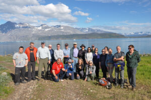 Group photo of Arctic Futures Workshop participants in Greenland