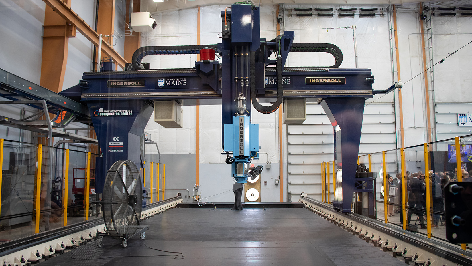 featured image for UMaine Composites Center celebrates historic 3D printing event