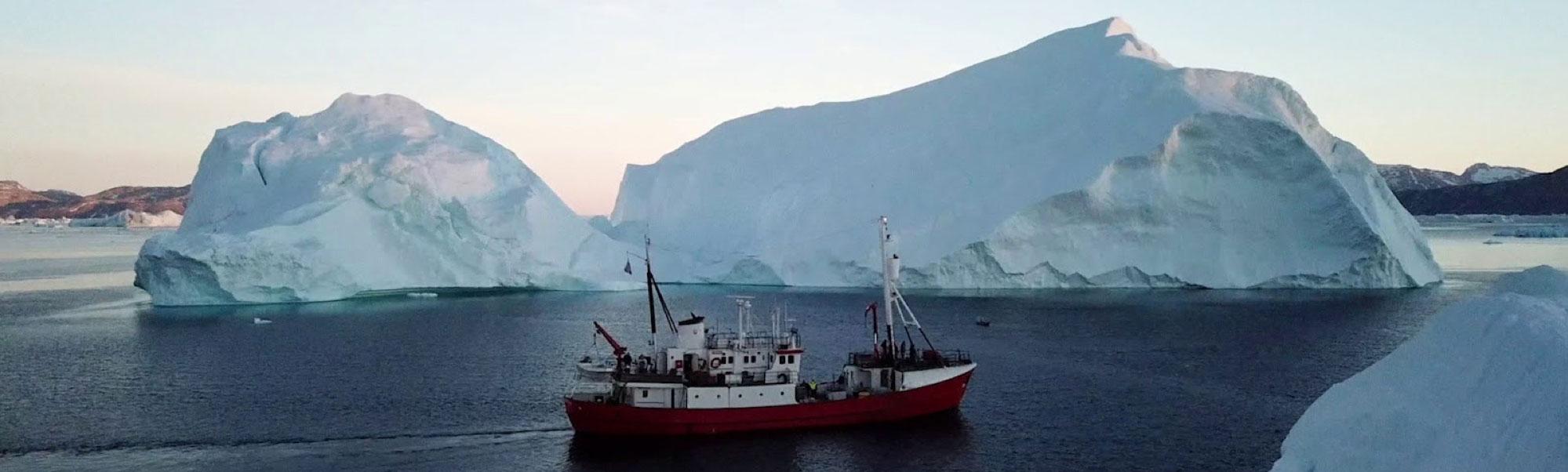 Cervino ship in the Arctic