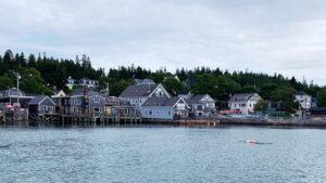 Maine coastal town