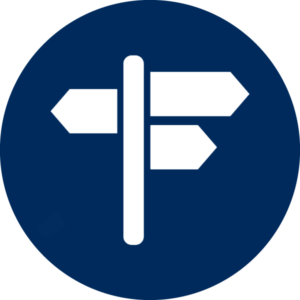 icon of signpost