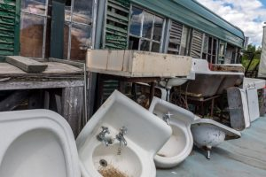 old sinks and basins