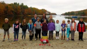 Students clamming