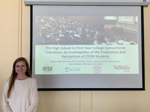 Emma Toth defends her MST thesis, December 2018
