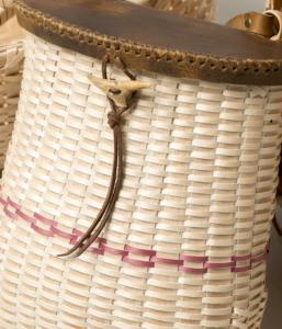Image of handmade Native American basket
