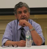 Image of Dr. Terry Shehata participating in a faculty panel