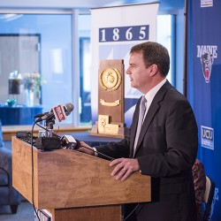 UMaine Athletic Director, Karlton Creech