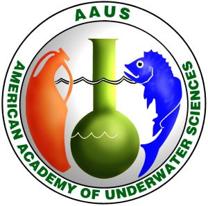 American academy of underwater sciences logo