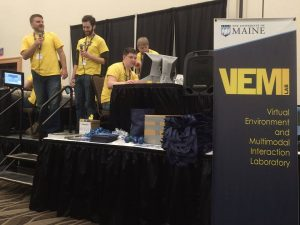 VEMI volunteers at the Maine Science Festival