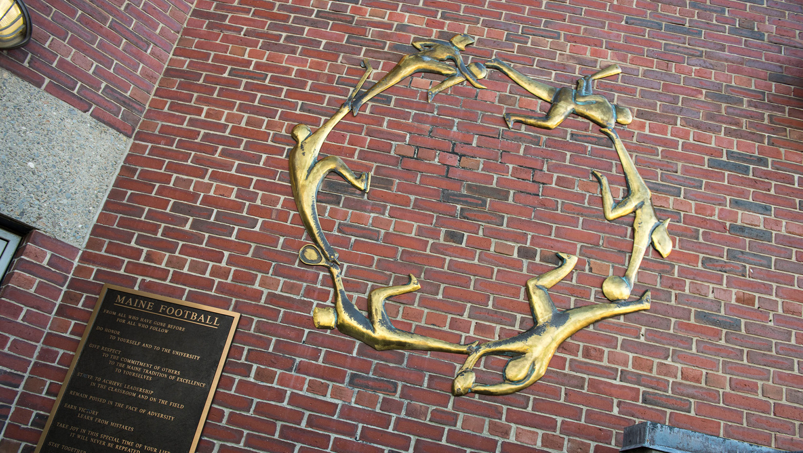 Circle of sports by Barry Norling, Maine