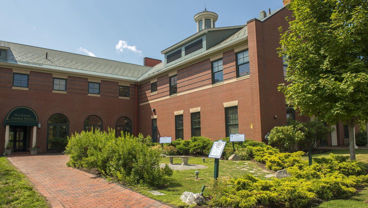 Buchanan Alumni House Traditions Garden