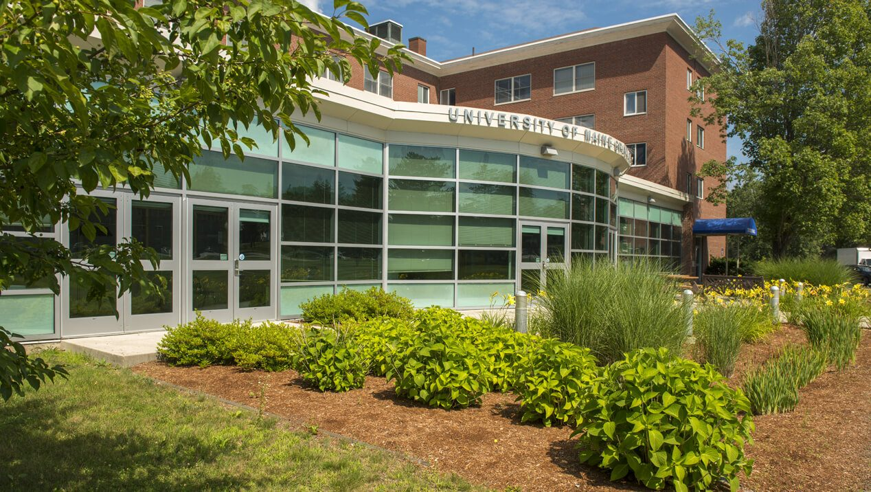 Graduate School Courtyard, Stodder Hall