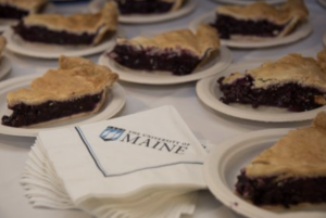 pie served by UMaine catering