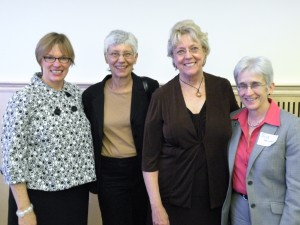 Kim Strom-Gottfried, Michelle Walker, Julia Watkins, Susan Hunter