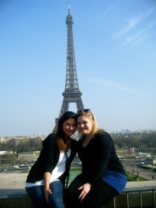UMaine Social Work Students in Paris