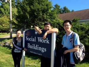 Chinese Students Learn About Social Work in the United States