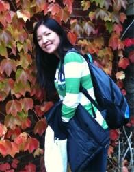 Emily Tran, student from Vietnam