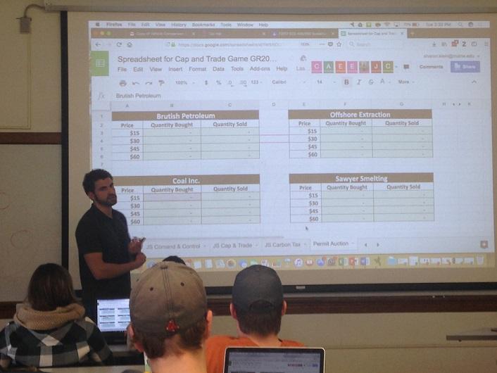 Garrett Teaching a Class