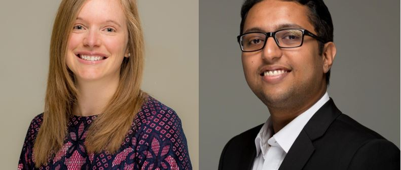 Picture of Dr. Angela Daley and Muntasir Rahman