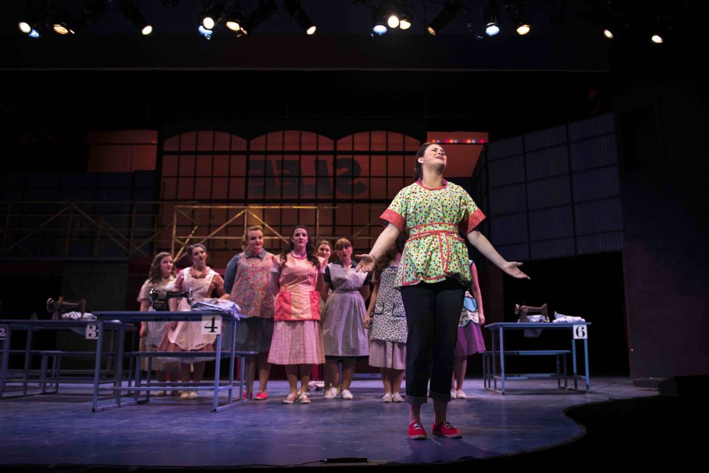 pajama game production photo
