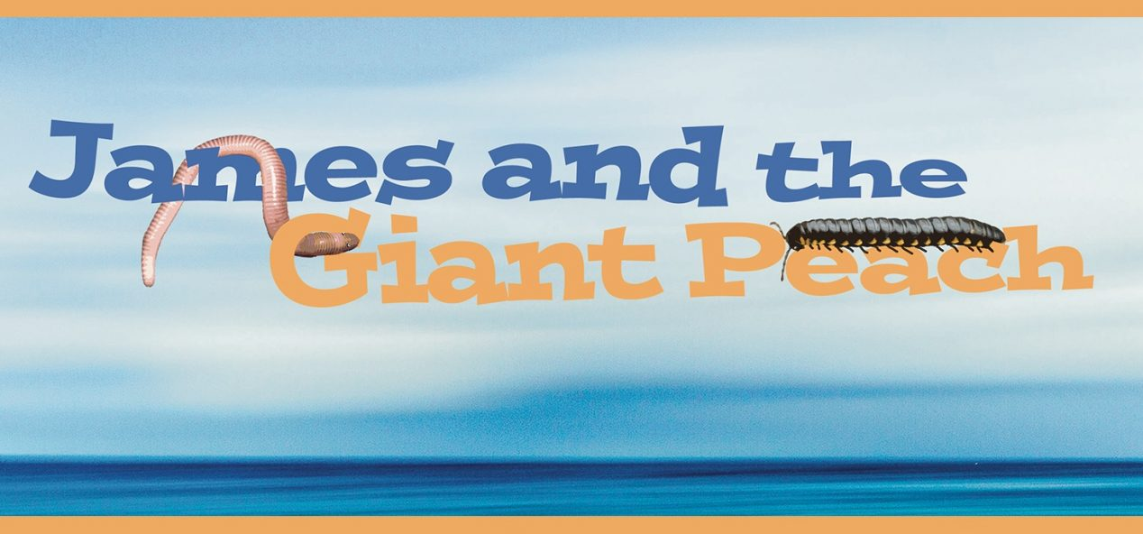 james and the giant peach title card