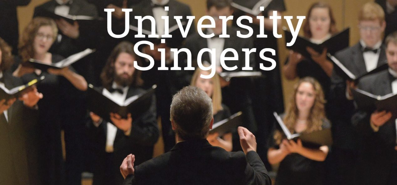 conductor and singers