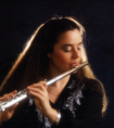 elizabeth downing playing the flute