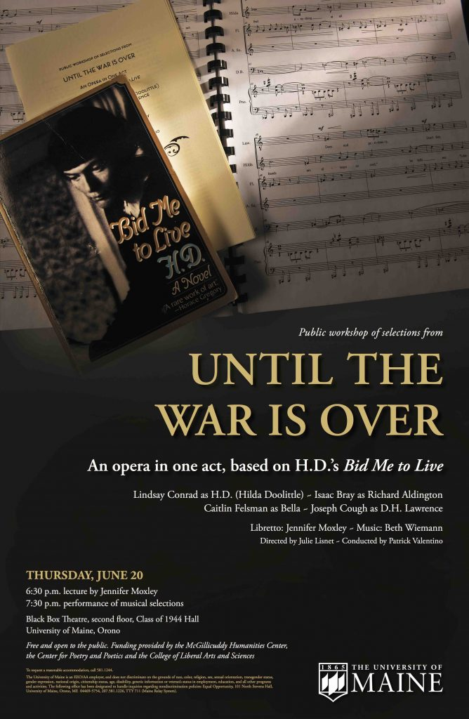 "poster for ""until the war is over"""