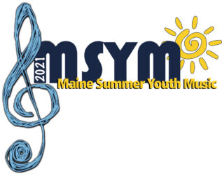 Maine Summer Youth Music Camp logo