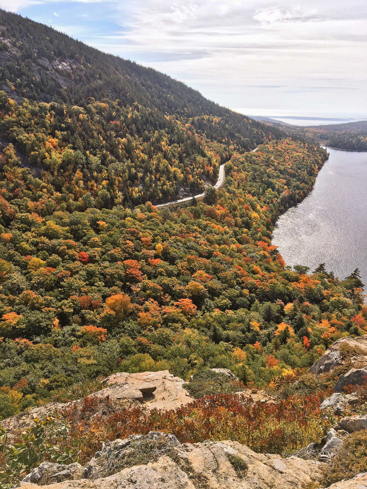 View From South Bubble - Acadia National Park, ME.