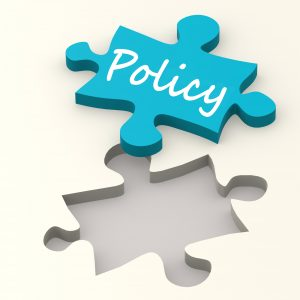 Policy blue puzzle image