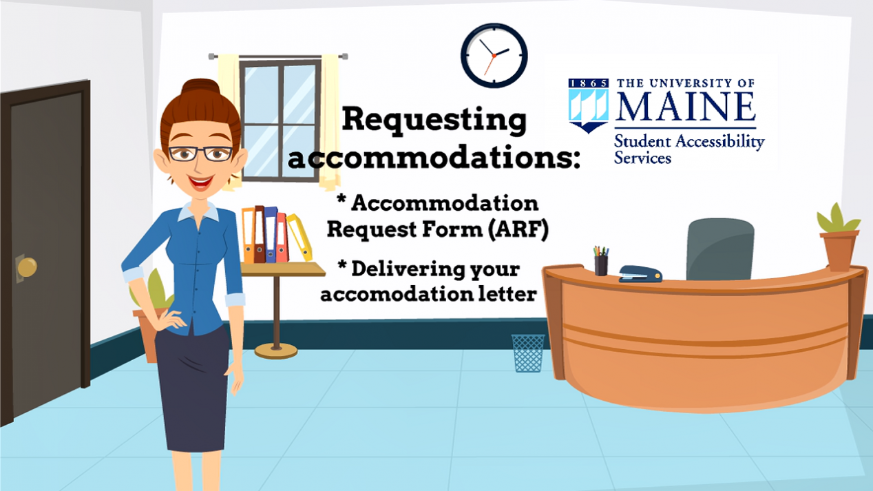 Video 2 - requesting accommodations
