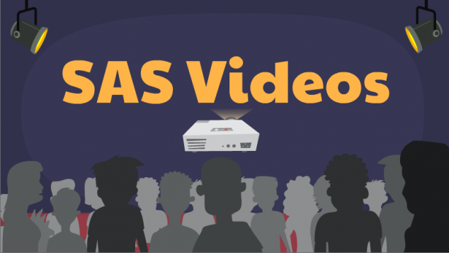 SAS Videos button
