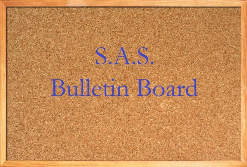 S.A.S. Bulletin Board link