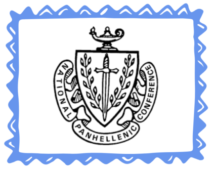 national panhellenic conference crest